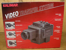 Kalimar Video Transfer System w/ Bulit-In Stereo Cassette Player & Sound Mixer