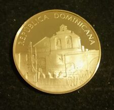 UNITED NATIONS REPUBLICA DOMINICANA  STERLING SILVER PROOF MEDAL