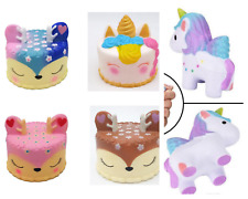 Slow Rising Cakes Unicorn Squeeze Toys  Kawaii stress reliever Gift UK