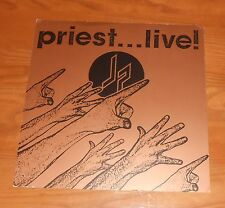 Judas Priest…Live! Poster 2-Sided Flat Square Promo 12x12 Rare