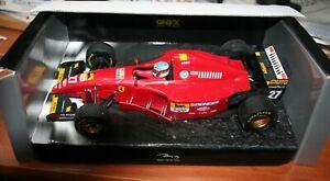 ONYX Formule 1 Modèles 1/18 FERRARI 412 T2 Jean Alesi-
