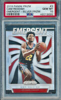 2019-20 Panini Cam Reddish Silver Prizm Rookie Card RC Emergent PSA 10 Gem Mint