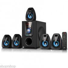 BeFree BFS-400 Sound 5.1 Channel Bluetooth Speaker System -Blue