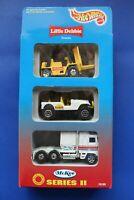 1996 Hot Wheels Little Debbie Snacks McKee Series II (3) Car Set
