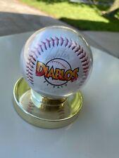 El Paso Diablos Minor League Signed Baseball