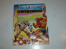 "MASTERS OF THE UNIVERSE ""He-Man"" Mini Comic - The Obelisk - Mattel Comic"