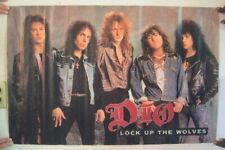 Dio Poster  Lock Up The Wolves Ronnie James Black Sabbath Rainbow
