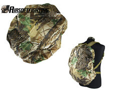 30-40L Tactical Hunting Camouflage Backpack Luggage Bag Dust Rain Cover Leaf