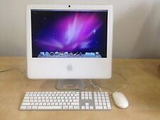 "Apple iMac 17"" A1173  1.83 GHz Core Duo 512MB RAM 160GB DVDRW HD Leopard 10.6.8"