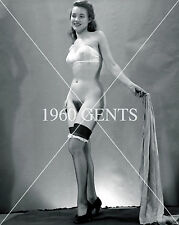 1940s 8X10 NUDE BIG BREASTS NICE ASS JUNE KING PHOTO FROM ORIGINAL NEG11- RARE!