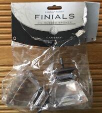Nip Cambria Premier Finials Complete Princess Cut Fits Drapery Rods 51188