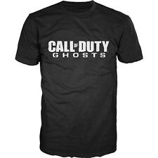 NEW XL ACTIVISION CALL OF DUTY GHOSTS GAMERS LOGO T-SHIRT PLAYSTATION 4 XBOX ONE