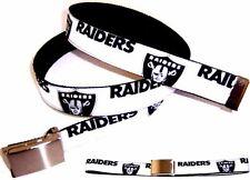 Oakland Raiders BELT Buckle Pro Football Fan Game Gear NFL Pro Shop Team Apparel