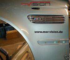 Einbau e46 M3 Kiemen in BMW Kotflügel e46 e36 e30 ohne Neulackierung