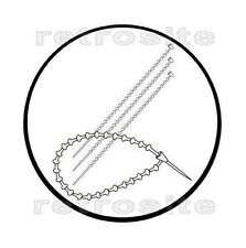 "500- 5"" Manual Adjustable Plastic Loop Fasteners No Tag Gun Needed"