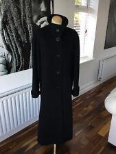 HOURIHAN designer black coat size 8