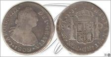 España - Monedas Carlos IV- Año: 1802 - numero 00949 - 2 Reales 1802 IJ Lima Ag