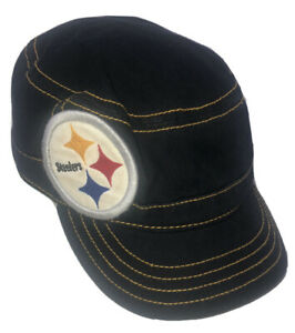 Womens NFL Pittsburgh Steelers Fidel Cap Football Adjustable One Sz Fan Apparel