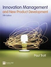 Innovation Management and New Product Development (5th Edition) by Trott, Paul