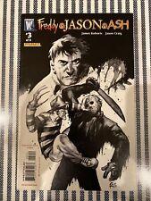 Wildstorm Freddy vs Jason vs Ash 3 * 2nd Print * 2008 *