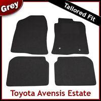 TOYOTA AVENSIS Estate Mk2 2003-2008 Tailored Carpet Car Floor Mats GREY