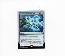 Very Cryptic Command-versión 6 (misprint #2) | nm/m | unstable | Magic mtg