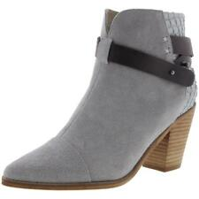 New AUSTRALIA LUXE COLLECTIVE Luana Gray Grey Suede Leather Ankle Boots Bootie 9
