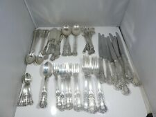 GORHAM STERLING SILVER BUTTERCUP 9 PIECE PLACE SETTING FOR EIGHT FLATWARE SET
