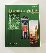 A Beka Literature of England Second Edition