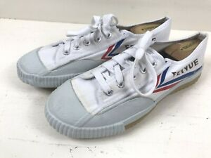 Feiyue tiger claw white Shoes canvas lace up martial arts sneaker eu Sz 40