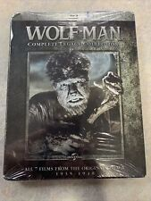 The Wolf Man Complete Legacy Collection New SEALED Blu-ray Boxed Set 7 FILMS