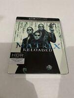 The Matrix Reloaded (4k Ultra HD + Blu-ray, Digital ) New !