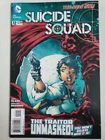 SUICIDE SQUAD #12 (2012) DC 52 COMICS HARLEY QUINN! DEADSHOT! 1ST PRINT!