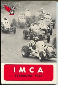 IMCA Yearbook 1967-sprint car cover-Ramo Stott-Ernie Derr-VF/NM