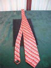 Irvine Park 100% Silk Multi-Colored Red Block Designed Neck Tie-Free Shipping