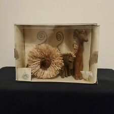 Pier One Imports Photo Holder Set African Animals Limited (Pottery Barn Like)