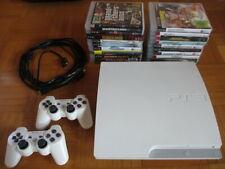 PS3 Konsole WEISS 320 GB mit 20 Spielen 2 Controller CECH-3004B