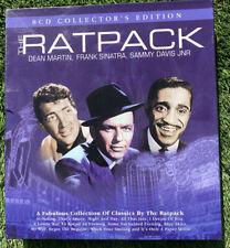 The Ratpack Dean Martin, Frank Sinatra, Sammy Davis JNR 8 CD Collector's Edition