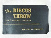 """1939 Cine-Sports """"The Discus Throw"""" by Dean Cromwell Flip Book"""