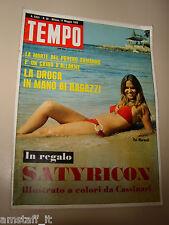 TEMPO=1969/20=EVI MARANDI=JACQUES TATI=ERMANNO LAVORINI=DACIA MARAINI=DE MARTINO