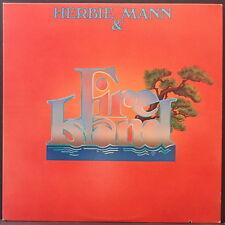 HERBIE MANN & FIRE ISLAND DISCO FUNK ALBUM US PRESS EXCELLENT CONDITION