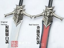 Devil May Cry Rebellion Dante metal Sword +Wooden Plaque 1:1 Cosplay Blade Prop