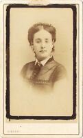Lia Felix Attrice Da Disdéri Parigi Francia Vintage Albumina CDV Ca 1860