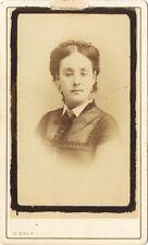 Lia Félix Actrice par Disdéri Paris France Vintage albumine cdv ca 1860