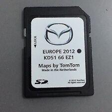GENUINE MAZDA 6 CX-5 SAT NAV NAVIGATION SD CARD UK EUROPE 2013 KD5166EZ1