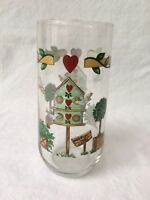 Thomson Pottery BIRDHOUSE 16 Oz Cooler Glass 4257757