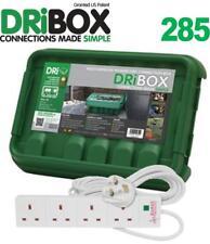 Caja Caja Exterior Impermeable Dri eléctrica + 4 Gang Enchufe de Reino Unido surge Tira