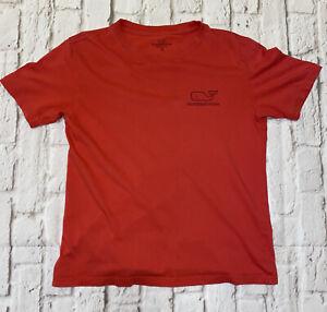 Vineyard Vines Boys Medium Short Sleeve T Shirt Watermelon Color