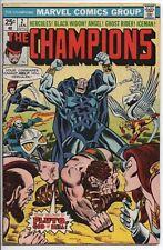 "Marvel Comics ""The Champions"" #2 VF- Jan. '76 Herc, Black Widow, Ghost Rider,"