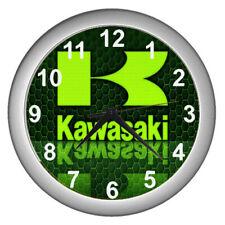 2021 Brand Logo Kawasaki Motorcycle Wall Clock